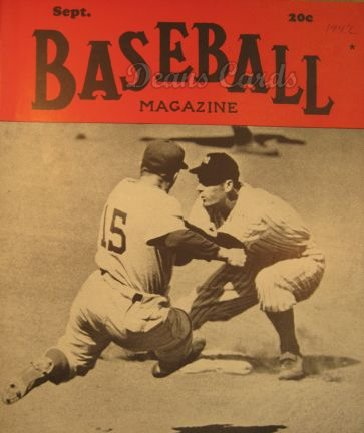 1942 Baseball Magazine    September