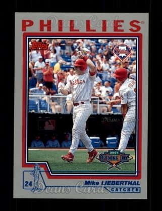 2004 Topps Opening Day #66  Mike Lieberthal