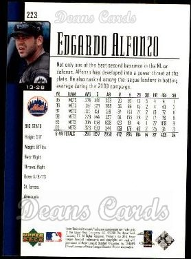 2001 Upper Deck #223  Edgardo Alfonzo