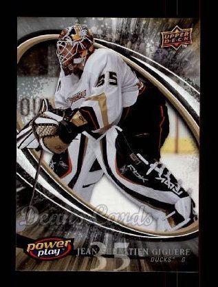 2008 Upper Deck Power Play #5  Jean-Sebastien Giguere