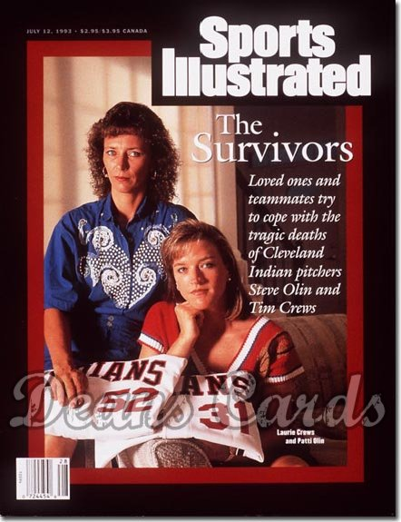 1993 Sports Illustrated - With Label   July 12  -  Laurie Crews & Patti Olin (Cleveland Wives)