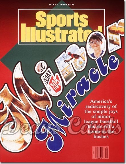 1990 Sports Illustrated - No Label   July 23  -  Baseballs Minor Leagues