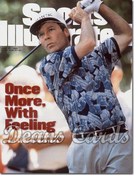 1995 Sports Illustrated - With Label   April 17  -  Ben Crenshaw