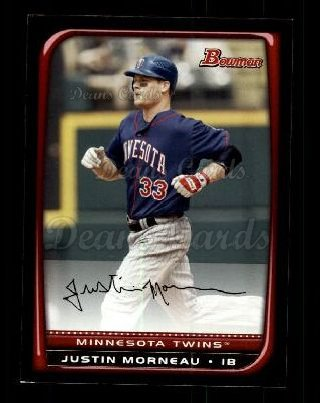 2008 Bowman #102  Justin Morneau