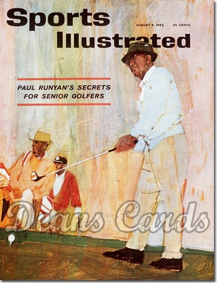 1962 Sports Illustrated - With Label   August 6  -  Paul Runyan