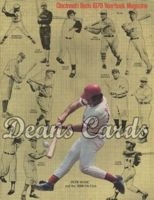 1978 Cincinnati Reds Yearbook - Pete Rose