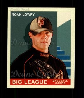 2007 Upper Deck Goudey Red Backs #189  Noah Lowry