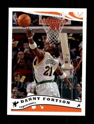 2005 Topps #31  Danny Fortson
