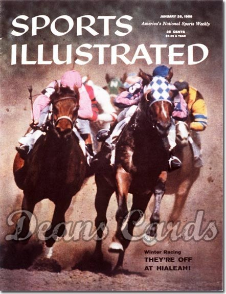 1959 Sports Illustrated - With Label   January 26  -  Horse Racing