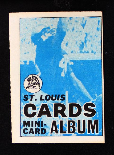 1969 Topps 4-in-1 Football Stamp Albums NO  St. Louis Cardinals