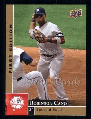 2009 Upper Deck First Edition #202  Robinson Cano