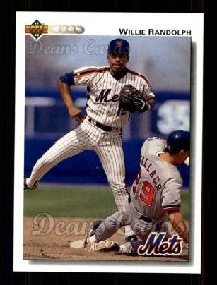 1992 Upper Deck #795  Willie Randolph