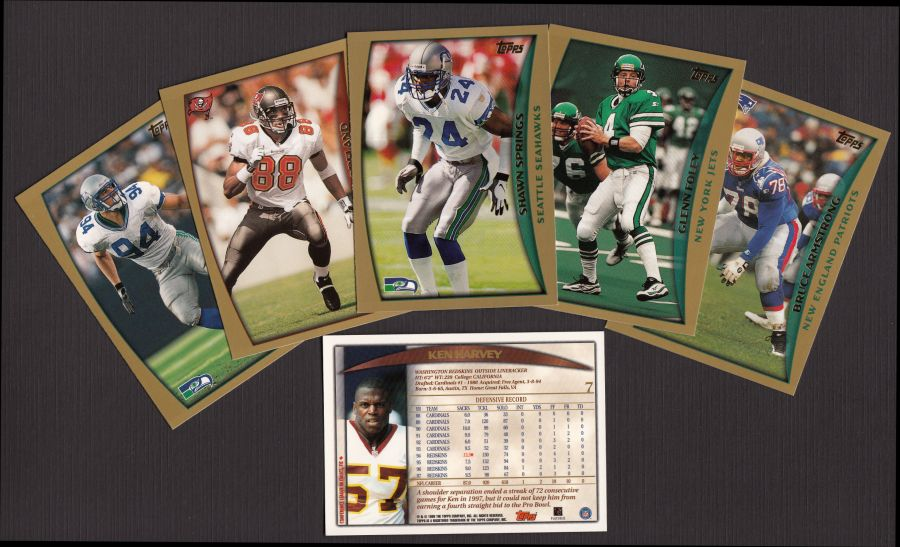 1998 Topps     Football Complete Set