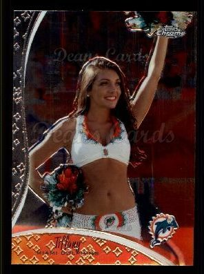 2009 Topps Chrome Cheerleader #15 TCC Tiffany