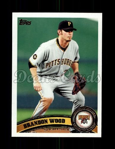 2011 Topps Update #241  Brandon Wood
