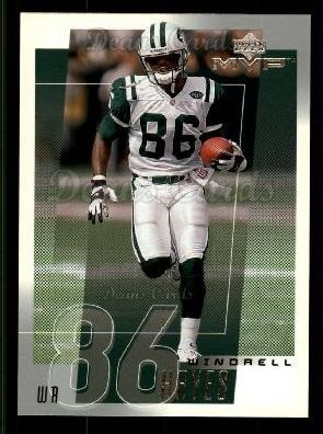 2001 Upper Deck MVP #186  Windrell Hayes