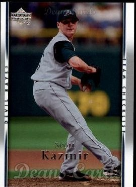 2007 Upper Deck #482  Scott Kazmir