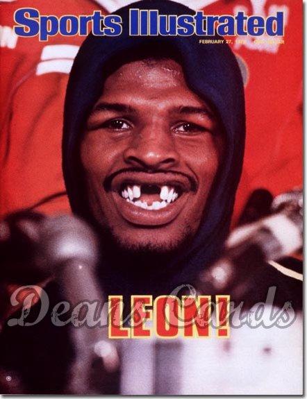 1978 Sports Illustrated - No Label   February 27  -  Leon Spinks