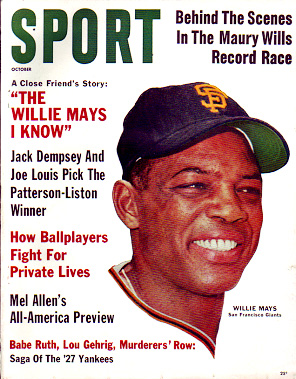 1962 Sport Magazine   -  Willie Mays  October