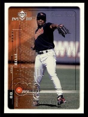 1999 Upper Deck MVP #25  Albert Belle