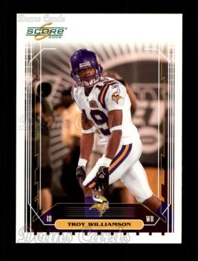 2006 Score #154  Troy Williamson