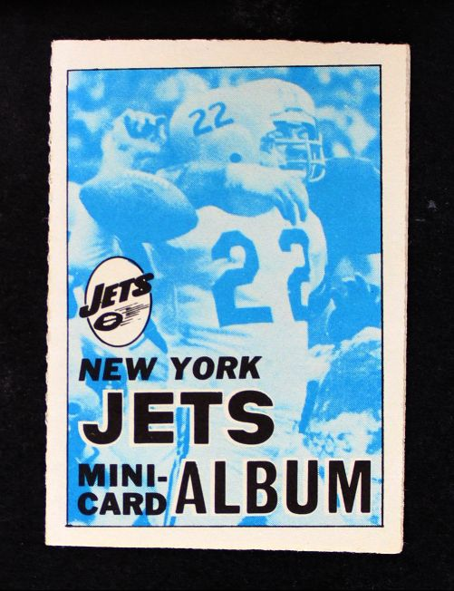 1969 Topps 4-in-1 Football Stamp Albums NO  New York Jets