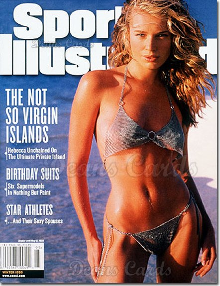 1999 Sports Illustrated - No Label   May 12  -  Rebecca Romijn