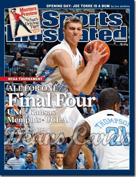 2008 Sports Illustrated - With Label   April 7  -  Kevin Love UCLA Bruins Basketball