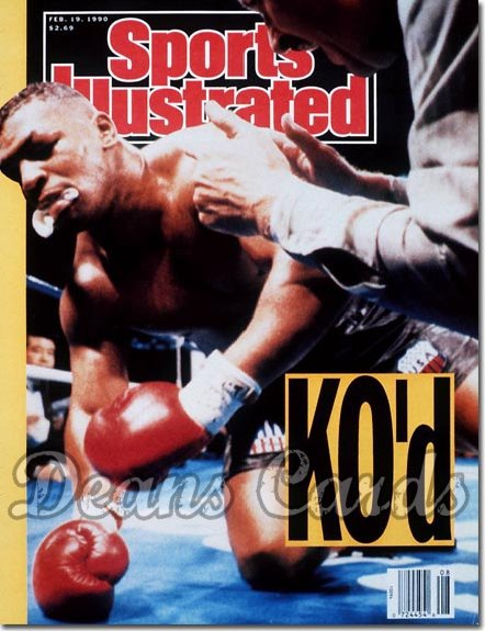 1990 Sports Illustrated - With Label   February 19  -  Mike Tyson