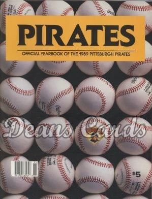 1989 Pittsburgh Pirates Yearbook - Photo of official N.L. balls