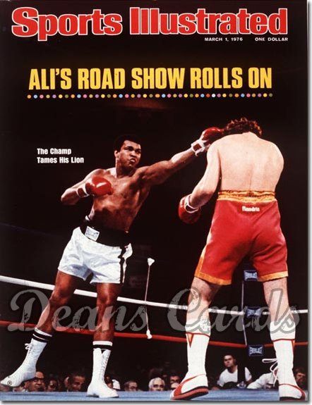 1976 Sports Illustrated - No Label   March 1  -  Muhammad Ali