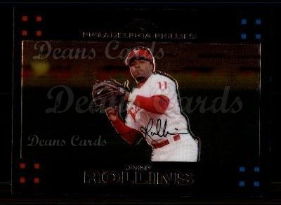2007 Topps Chrome #108  Jimmy Rollins