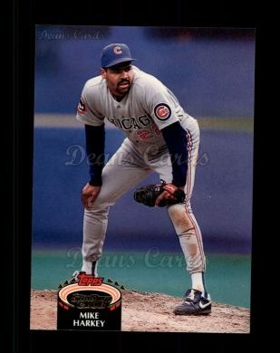 1992 Topps Stadium Club #501  Mike Harkey