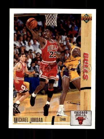 1991 Upper Deck #44  Michael Jordan