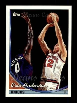 1993 Topps #329  Eric Anderson