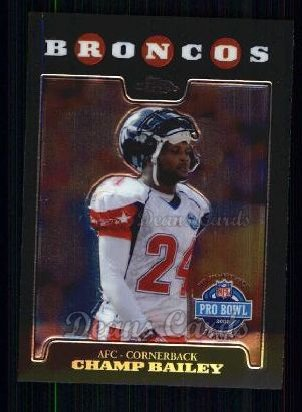 2008 Topps Chrome #149   -  Champ Bailey All-Pro