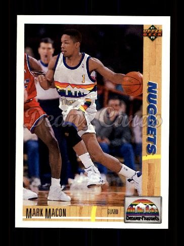 1991 Upper Deck #489  Mark Macon
