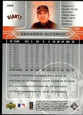 2005 Upper Deck #399  Edgardo Alfonzo