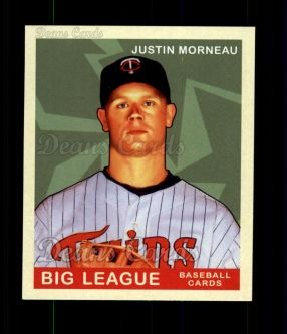 2007 Upper Deck Goudey Red Backs #68  Justin Morneau