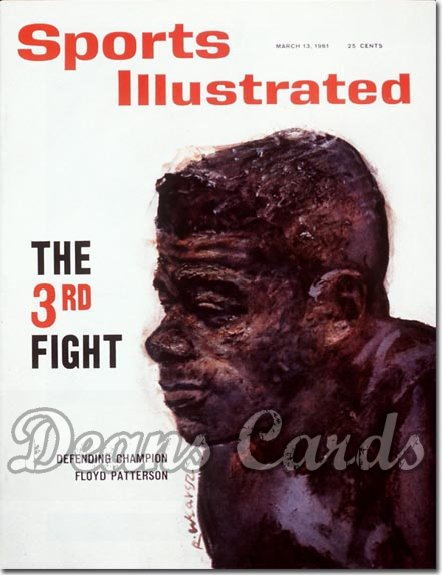 1961 Sports Illustrated - With Label   March 13  -  Floyd Patterson