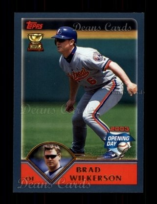 2003 Topps Opening Day #62  Brad Wilkerson
