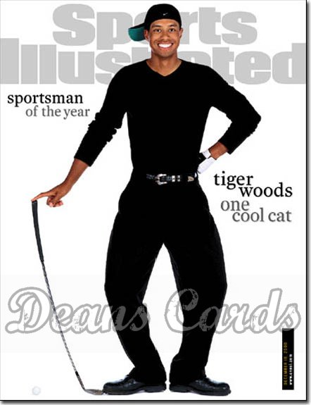 2000 Sports Illustrated - With Label   December 18  -  Tiger Woods (Sportsman of the Year)