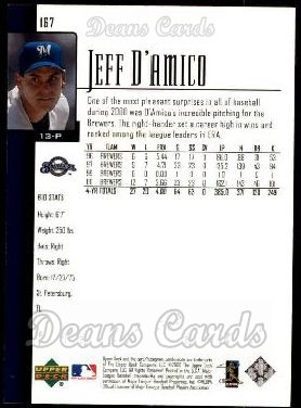 2001 Upper Deck #167  Jeff D'Amico