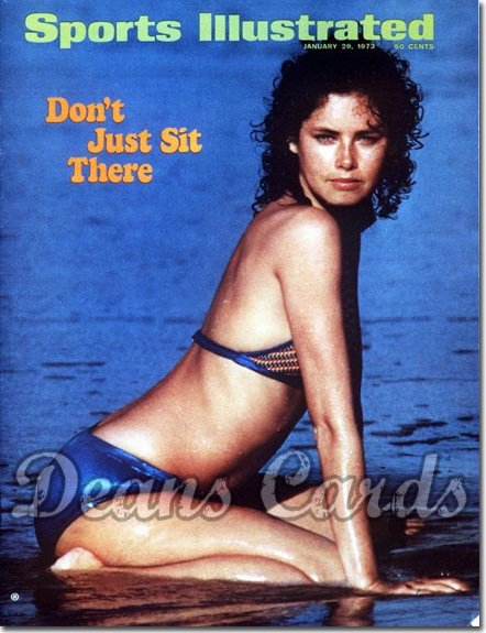 1973 Sports Illustrated - With Label   January 29  -  Dayle Haddon Swimsuit Issue