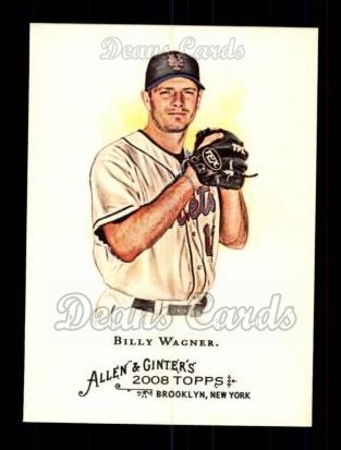 2008 Topps Allen & Ginter #89  Billy Wagner