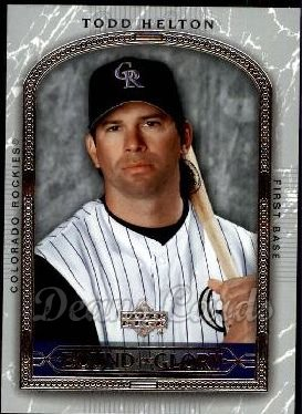 2005 Upper Deck #469   -  Todd Helton Best of a Generation