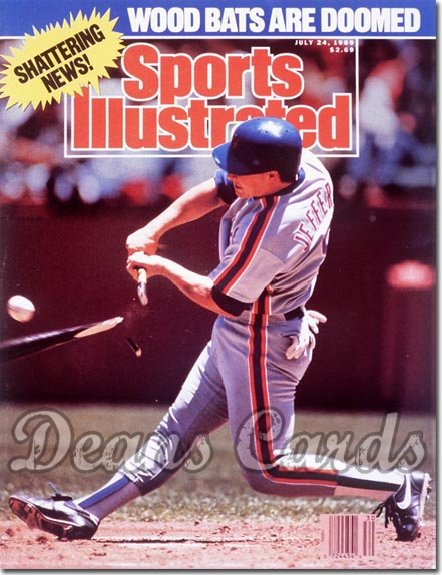 1989 Sports Illustrated - No Label   July 24  -  Gregg Jefferies (New York Mets)