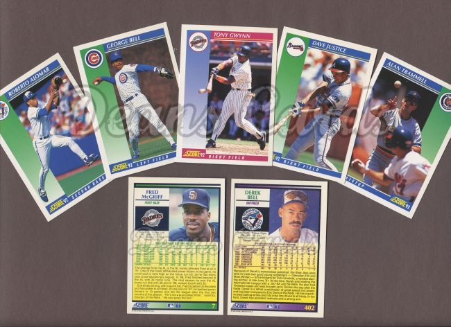 1992 Score 1992 Score Baseball Collector Set