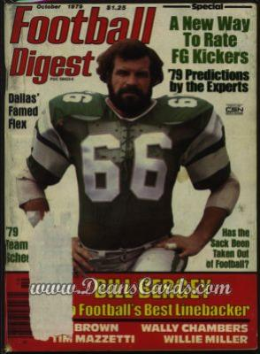 1979 Football Digest    October  - Bill Bergey