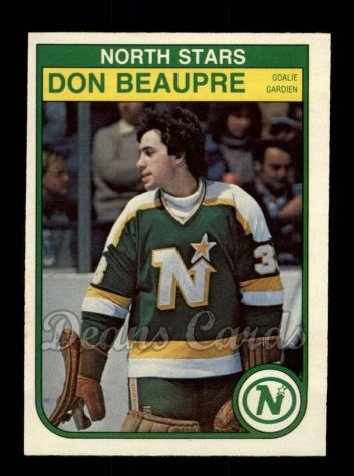 1982 O-Pee-Chee #163  Don Beaupre